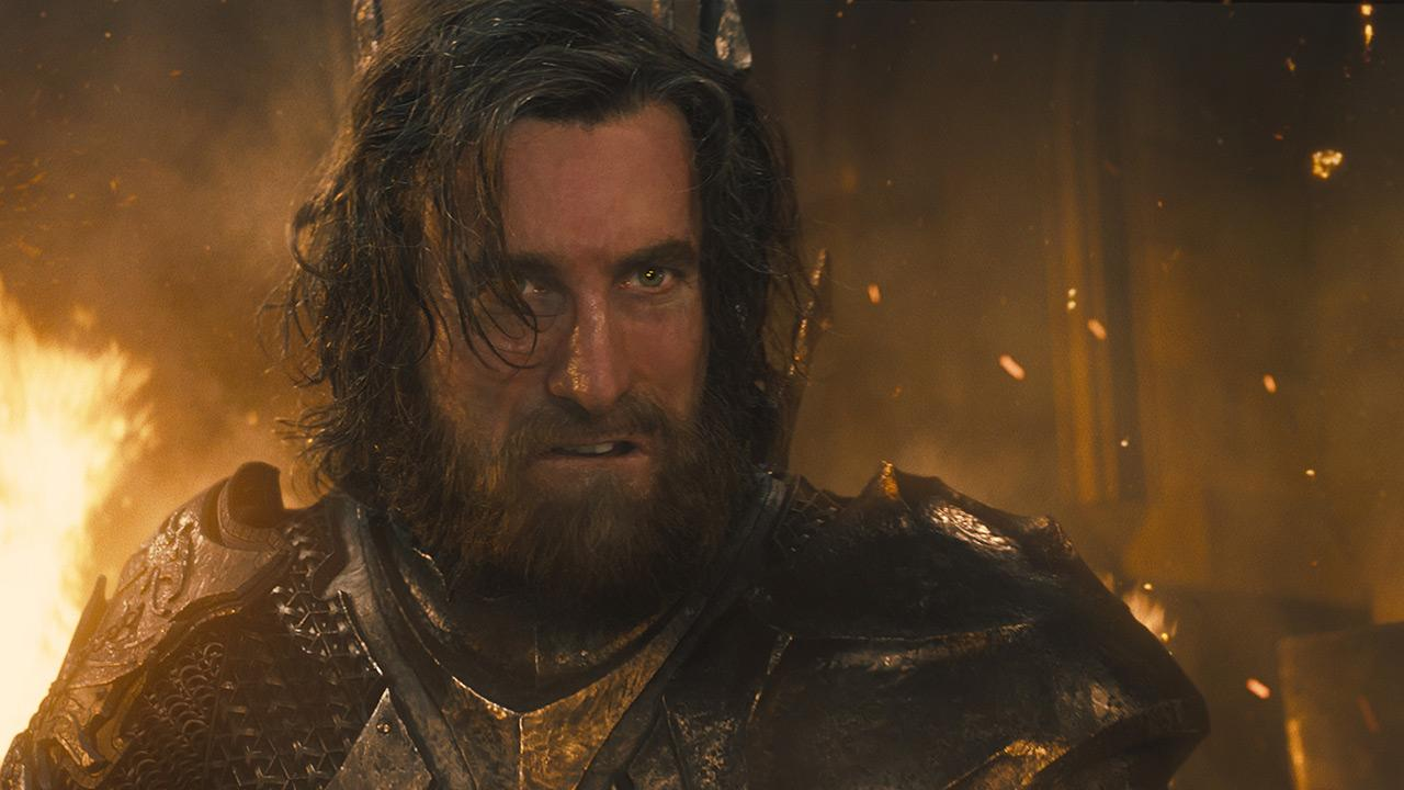 Sharlto Copley appears as King Stefan in a scene from the 2014 Disney film Maleficent.Walt Disney Studios
