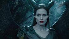 Angelina Jolie appears in a scene from the 2014 Disney film Maleficent. - Provided courtesy of Walt Disney Studios