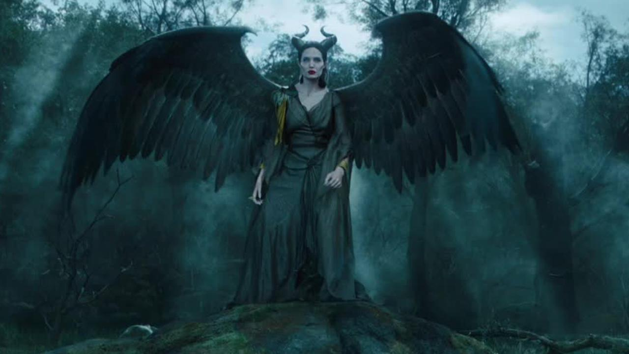 Angelina Jolie appears in a scene from the 2014 Disney film Maleficent. <span class=meta>(Walt Disney Studios)</span>