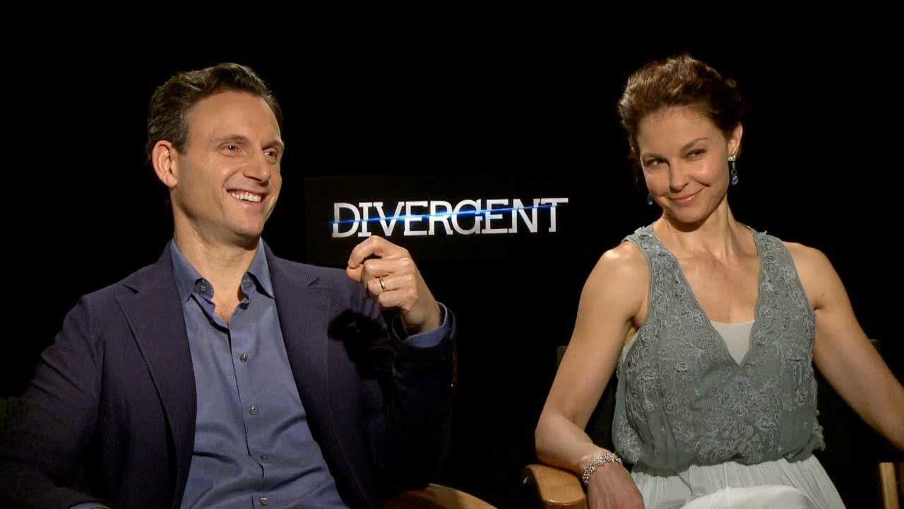 Tony Goldwyn and Ashley Judd talk to OTRC.com about Divergent, in theaters on March 21, 2014.