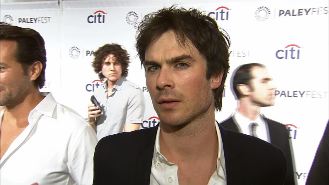 Ian Somerhalder talks to OTRC.com at a LOST reunion event at the Paley Center For Media in Los Angeles on March 16, 2014.