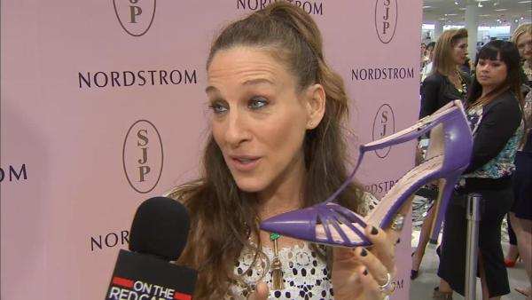 Style maven Sarah Jessica Parker launches her new shoe line, SJP Collection at Nordstrom