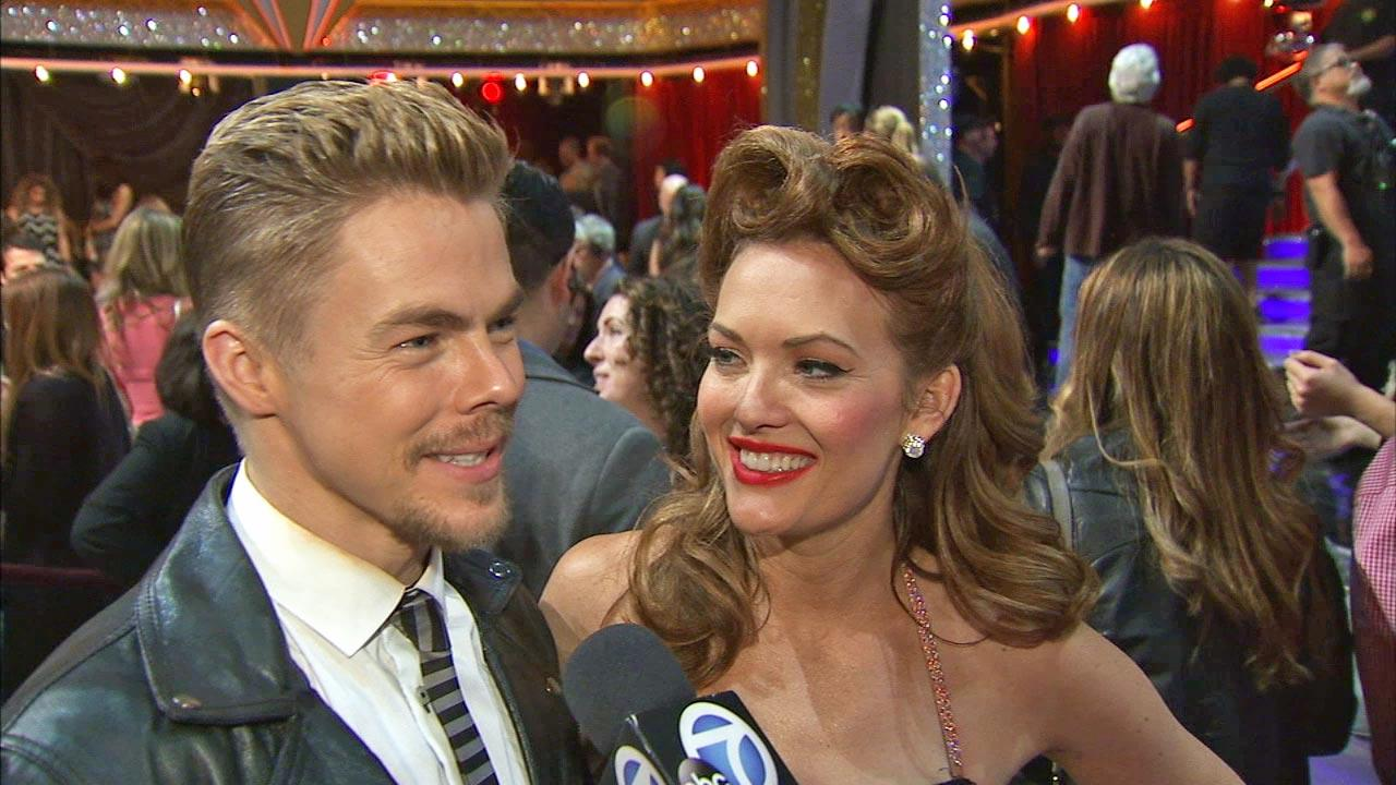 Amy Purdy, Derek Hough talk to OTRC.com after week 2 on Dancing With The Stars season 18 on March 24, 2014.