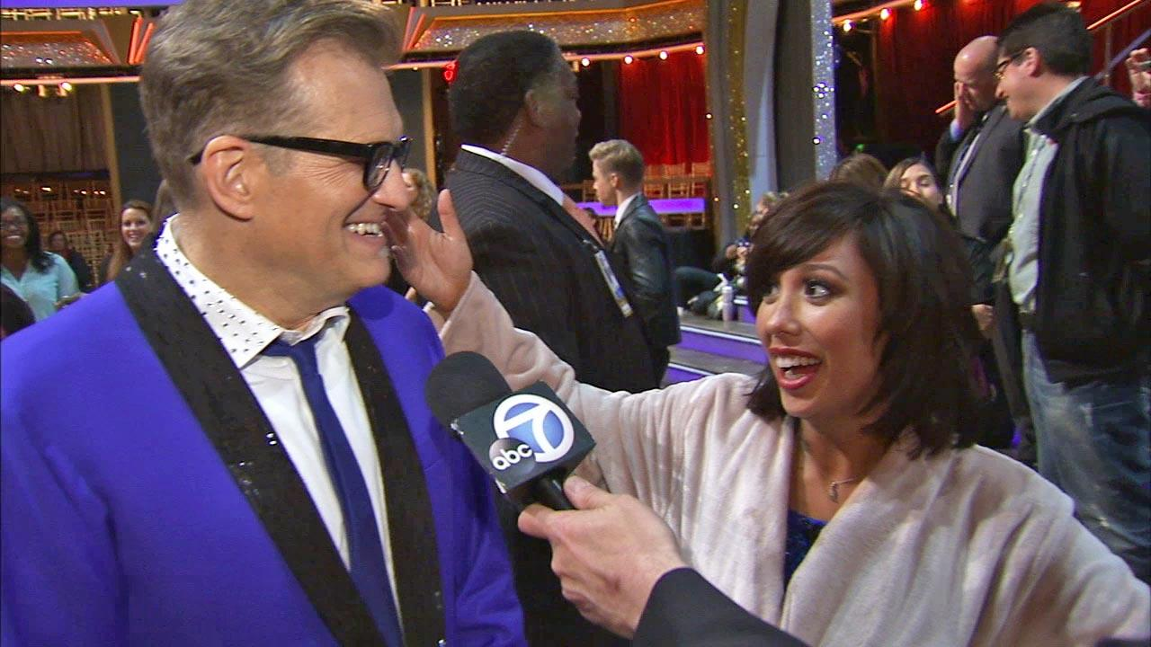Drew Carey and Cheryl Burke talk to OTRC.com after week 2 on Dancing With The Stars season 18 on March 24, 2014.