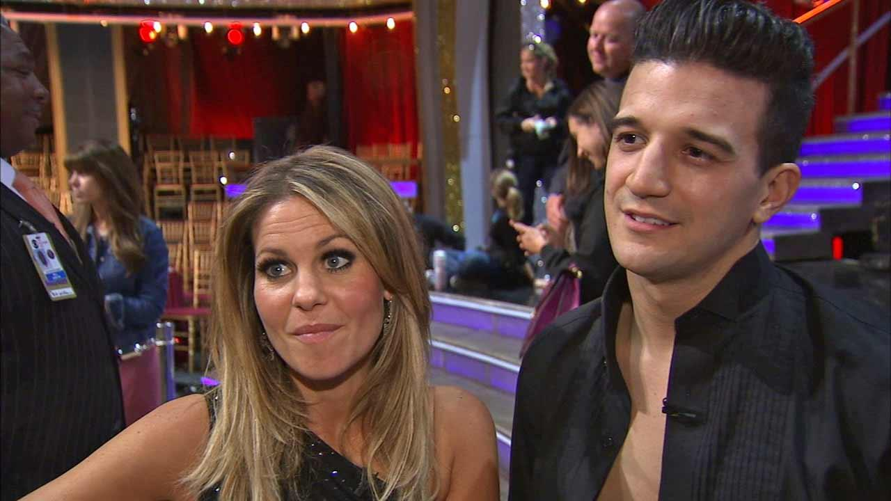 Candace Cameron Bure and Mark Ballas talk to OTRC.com after week 2 on Dancing With The Stars season 18 on March 24, 2014.