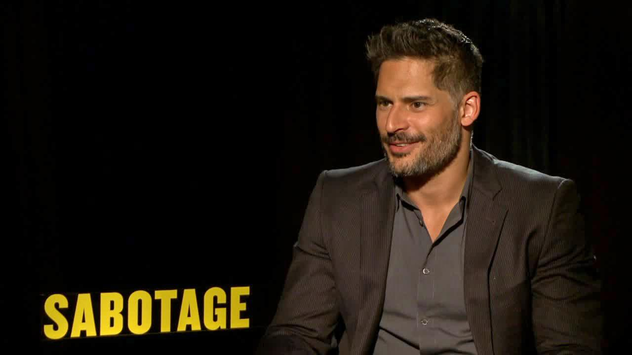 Joe Manganiello talks to OTRC.com about the film Sabotage in March 2014.