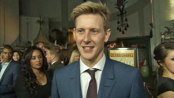 Gabriel Mann appears in an interview with OTRC.com at the premiere of Cesar Chavez on March 12, 2014.