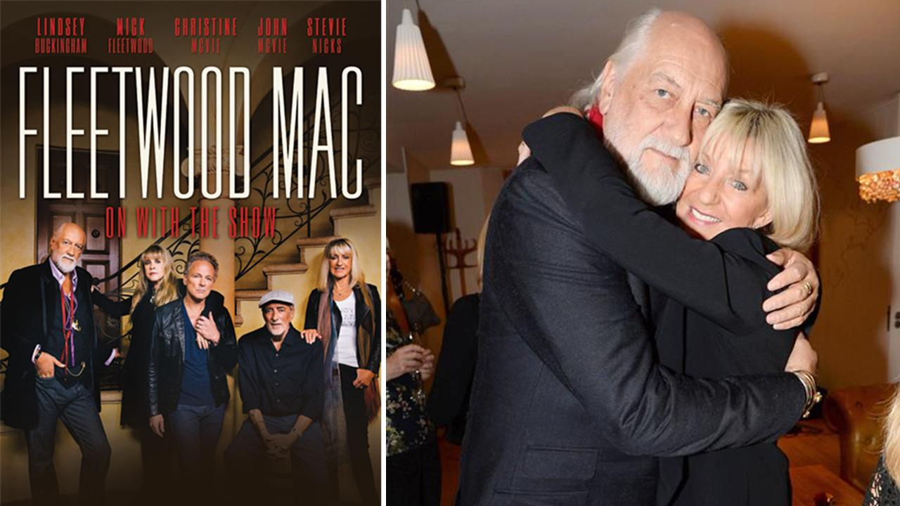 Fleetwood Mac member appear in an official poster for the bands On With The Show 2014 Tour, its first concert series with Christine in 16 years. / Mick Fleetwood and Christine McVie appear at Jenny Boyds book launch event in London on Sept. 26, 2013.