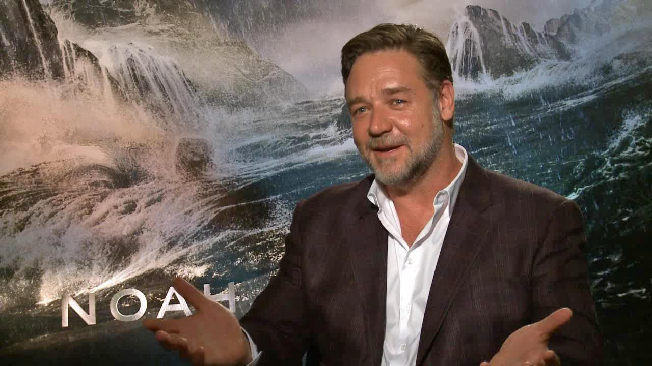 Russell Crowe talks to OTRC.com about the movie Noah and why he likes Twitter, in an interview in March 2014.