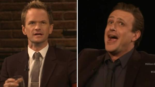 Neil Patrick Harris and Jason Segel appear on Inside The Actors Studio in a March 2014 episode to discuss How I Met Your Mother. - Provided courtesy of Bravo / Inside The Actors Studio / youtube.com/xomaaa