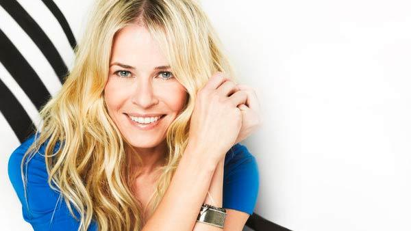 Chelsea Handler appears in a promotional photo for her E! late-night talk show Chelsea Lately. - Provided courtesy of Timothy White / E!
