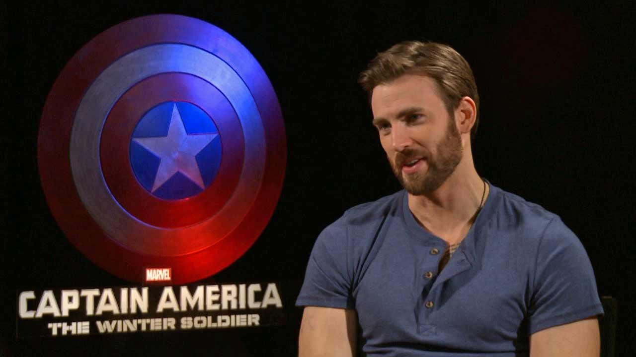 Chris Evans spoke to OTRC.com about Captain America: The Winter Soldier (March 2014 interview).