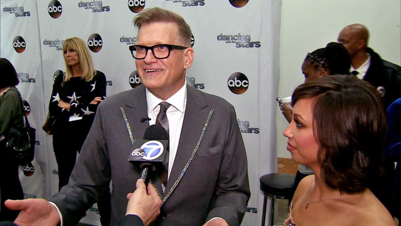 Drew Carey and Cheryl Burke talk to OTRC.com after week 3 on Dancing With The Stars season 18 on March 31, 2014.