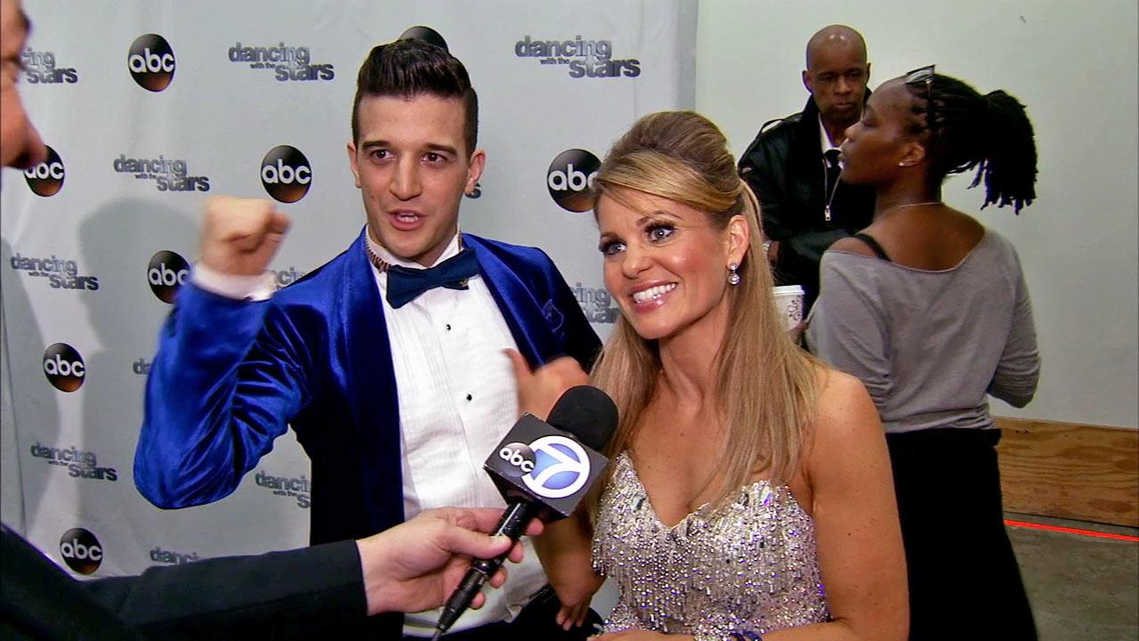 Candace Cameron Bure and Mark Ballas talk to OTRC.com after week 3 on Dancing With The Stars season 18 on March 31, 2014.