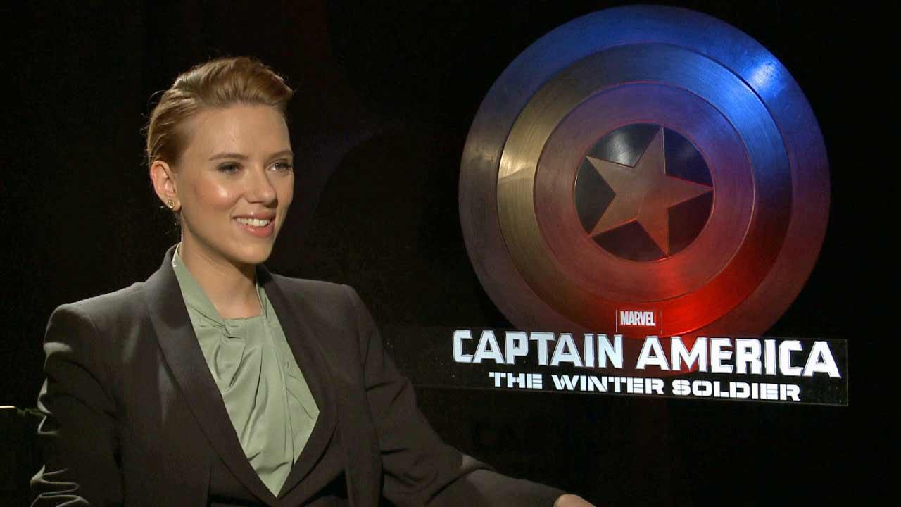 Scarlett Johansson spoke to OTRC.com about Captain America: The Winter Soldier (March 2014 interview).