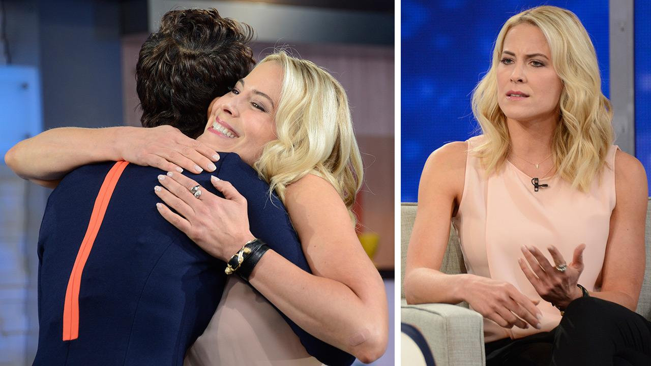 Brittany Daniel of The Game and Sweet Valley High fame gets emotional talking about her cancer battle, in an interview with Robin Roberts on ABCs GMA on April 3, 2014. Roberts, a cancer survivor, gave her a hug.