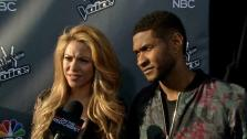 Shakira and Usher talk to OTRC.com about The Voice season 6 (April 2014 interview). - Provided courtesy of none / OTRC