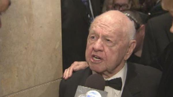 Actor Mickey Rooney is seen in an undated file photo.
