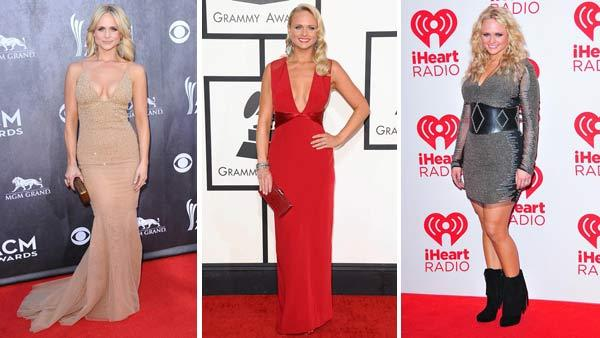 Miranda Lambert appears on the red carpet at the 2014 ACM Awards, the 2014 Grammy Awards and the 2012 iHeart Radio Music Festival, showcasing some of her sexiest looks over the years. - Provided courtesy of Sara De Boer / Kyle Rover / Norman Scott / startraksphoto.com
