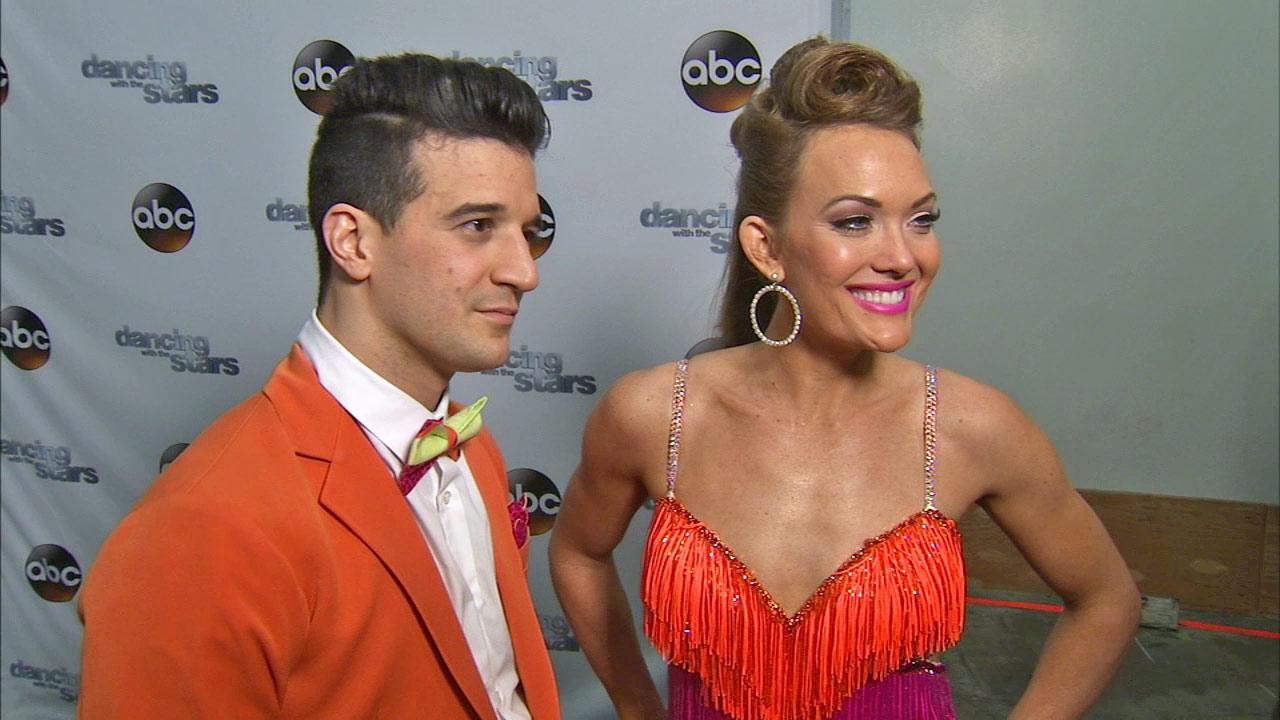 Amy Purdy, Mark Ballas talk to OTRC.com after week 4 on Dancing With The Stars season 18 on April 7, 2014.
