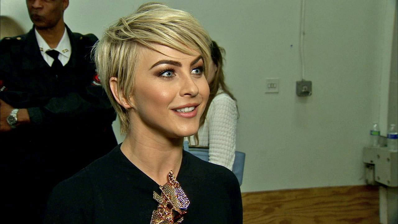 Julianne Hough talk to OTRC.com after week 4 on Dancing With The Stars season 18 on April 7, 2014.