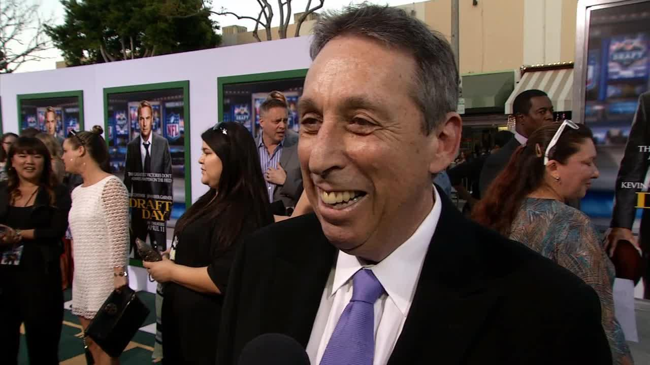 Ivan Reitman, director of Ghostbusters 1 and 2, talks to OTRC.com about the 3rd film at the Draft Day premiere on April 7, 2014.