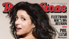 Julia Louis-Dreyfus of Veep and Seinfeld fame appears nude on the cover of Rolling Stones April 24, 2014 issue. - Provided courtesy of Rolling Stone / Mark Seliger