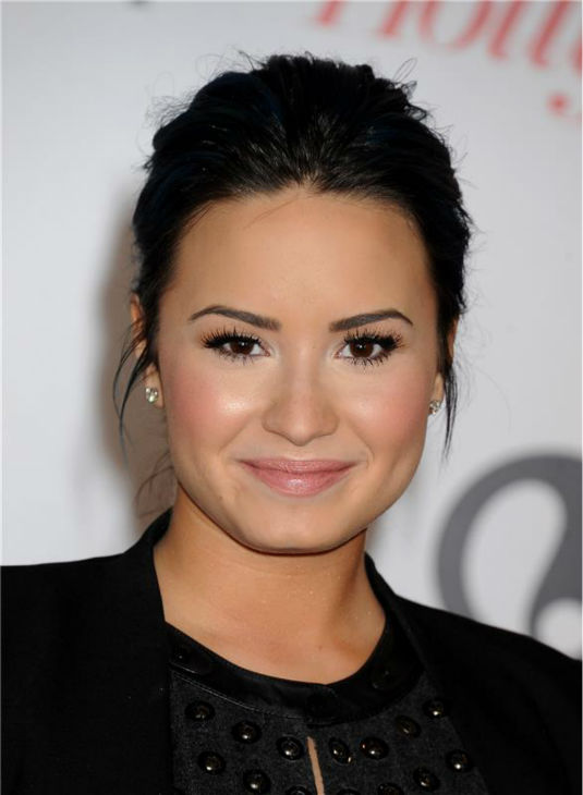 Demi Lovato attends the Hollywood Reporter&#39;s 2013 Women In Entertainment Breakfast in Beverly Hills, California on Dec. 11, 2013. <span class=meta>(Daniel Robertson &#47; Startraksphoto.com)</span>