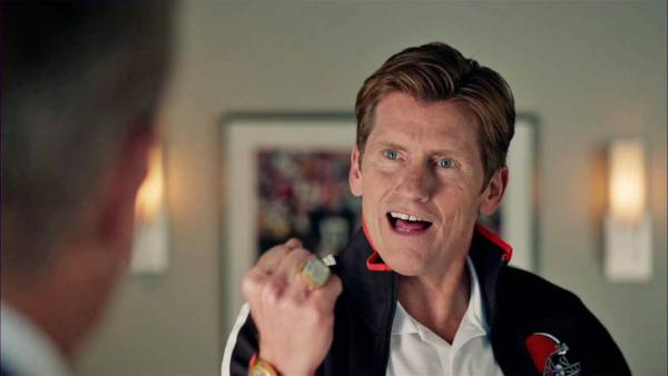 Denis Leary appears in the 2014 film Draft Day, in theaters on April 11, 2014.