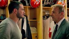 Kevin Costner and Tom Welling appear in the 2014 film Draft Day, in theaters on April 11, 2014. - Provided courtesy of none / Summit Entertainment / Lionsgate
