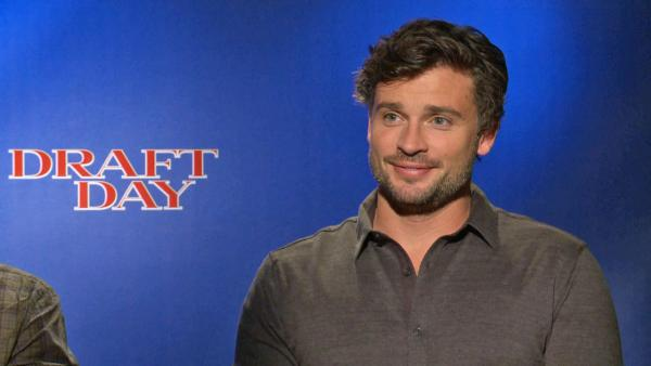 Tom Welling appears in a junket interview for Draft Day on March 30, 2014. - Provided courtesy of OTRC