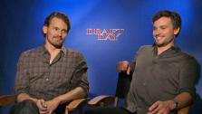 Tom Welling and Josh Pence appear in a junket interview for Draft Day on March 30, 2014. - Provided courtesy of OTRC