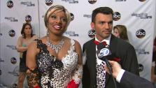 NeNe Leakes and Tony Dovolani talk to OTRC.com after week 5 on Dancing With The Stars season 18 on April 14, 2014. - Provided courtesy of OTRC