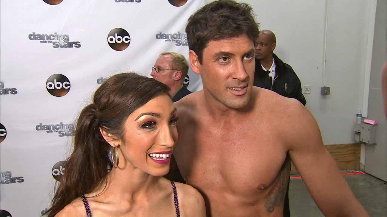 Meryl Davis and Maksim Chmerkovskiy talk to OTRC.com after week 5 on Dancing With The Stars season 18 on April 14, 2014.