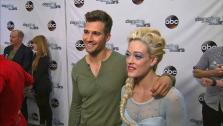 James Maslow, Peta Murgatroyd talk to OTRC.com after week 5 on Dancing With The Stars season 18 on April 14, 2014. - Provided courtesy of OTRC