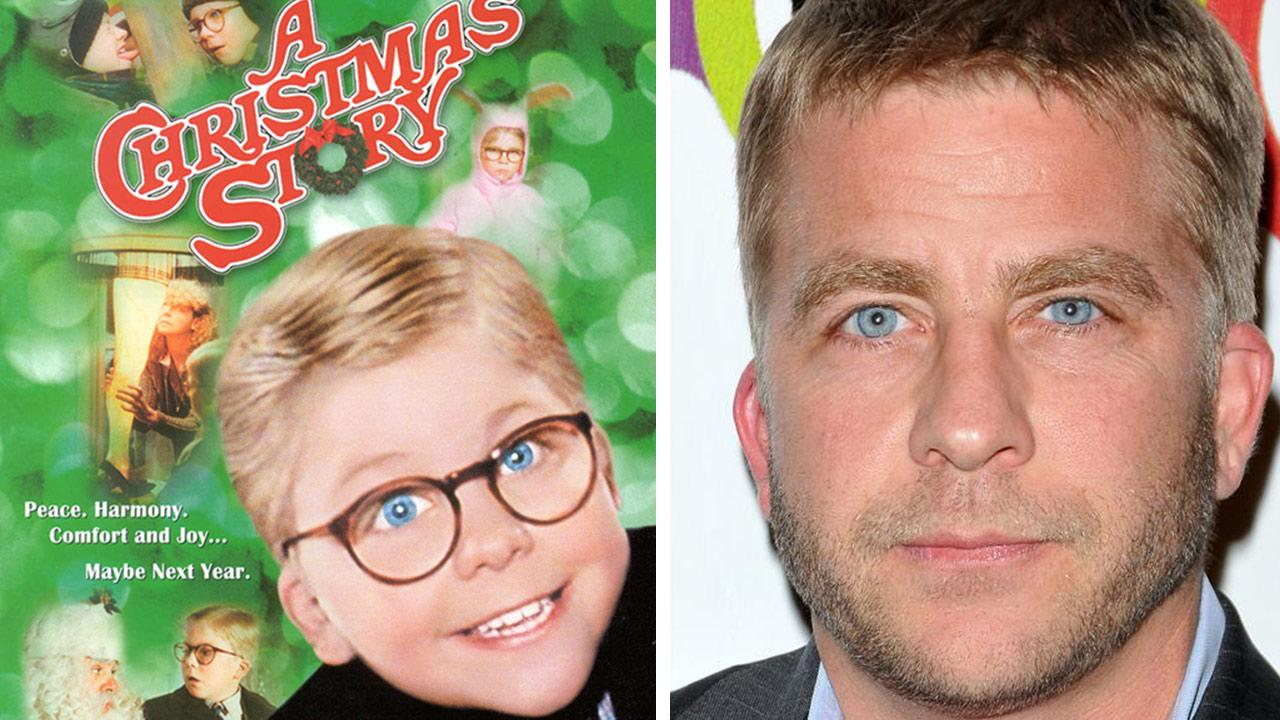 Peter Billingsley appears on the DVD cover of A Christmas Story / Peter Billingsley appears at the opening of Kimberly Snyders GLOW BIO store in Los Angeles on Nov. 14, 2012.Metro-Goldwyn-Mayer / Christmas Tree Films / Tony DiMaio / Startraksphoto.com