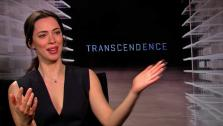 Rebecca Hall talks to OTRC.com about the 2014 film Transcendence (April 2014 interview). - Provided courtesy of OTRC