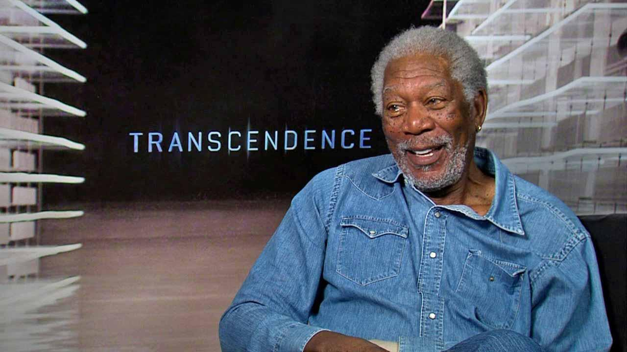Morgan Freeman talks to OTRC.com about the 2014 film Transcendence (April 2014 interview).