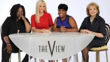 The View co-hosts Whoppi Goldberg, Jenny McCarthy, Sherri Shepherd and Barbara Walters appear in a photo taken for the shows 17th season in 2013. - Provided courtesy of ABC/Donna Svennevik
