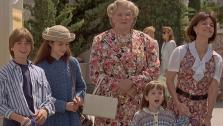 Matthew Lawrence, Lisa Jakub, Robin Williams, Sally Field and Mara Wilson appear in a scene from the 1993 movie Mrs. Doubtfire. On April 16, it was reported that a sequel was in the worlds. Wilson tweeted she has no interest in reprising her role - Provided courtesy of Blue Wolf / Twentieth Century Fox Film Corporation