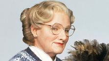 Robin Williams appears in a promotional photo from the 1993 movie Mrs. Doubtfire. - Provided courtesy of none / Blue Wolf / Twentieth Century Fox Film Corporation