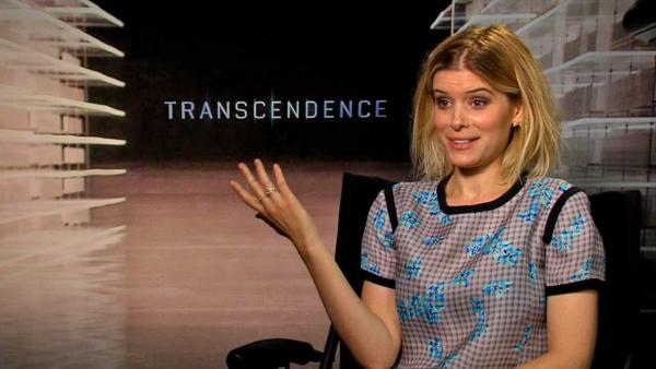 Kate Mara talks to OTRC.com about the new film Transcendence and preparing for her role in the new Fantastic Four movie. (April 2014) - Provided courtesy of OTRC