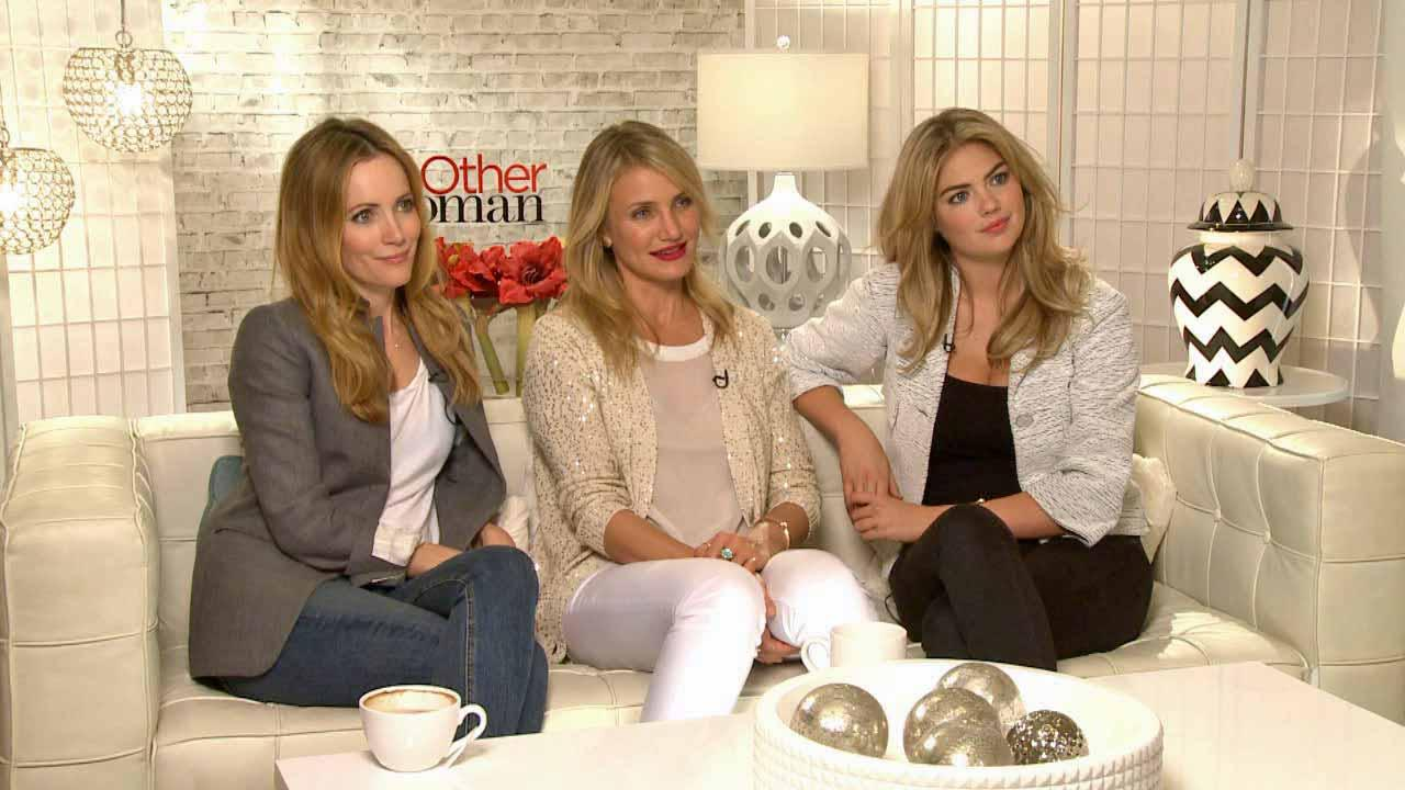 Leslie Mann, Cameron Diaz and Kate Upton talk to OTRC.com about The Other Woman, in theaters on April 25, 2014.