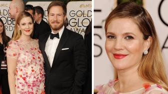Drew Barrymore and husband Will Kopelman appear at the 2014 Golden Globe Awards on Jan. 12, 2014. The two welcomed their second child, a baby girl named Frankie, on April 22, 2014. Their first daughter, Olive, was born in September 2012.