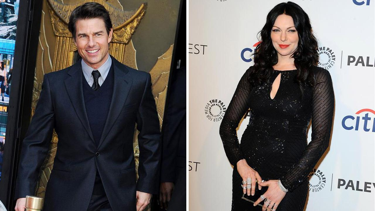 Laura Prepon appears at The Paley Center for Media presents 31st Annual PaleyFest: Orange Is The New Black on March 14, 2014. / Tom Cruise appears at Ben Stillers hand and footprints ceremony at Chinese Theatre on Dec. 3, 2013.