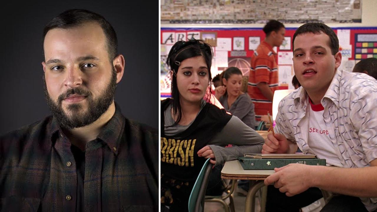 Daniel Franzese appears in a publicity headshot posted on his resume. / Lizzy Caplan and Daniel Franzese appear in a scene from Mean Girls. The actor made headlines over a April 21, 2014 letter published on Indiewire, in which he reveals he is gay.