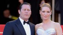 Uma Thurman and Arpad Busson appear at the 2013 Cannes Film Festival in Cannes, France on May 26, 2013. It was reported on April 22, 2014 that the on-again, off-again couple, who share a daughter, had called off their engagement. - Provided courtesy of Briquet-Hahn-Marechal / Abaca / Startraksphoto.com