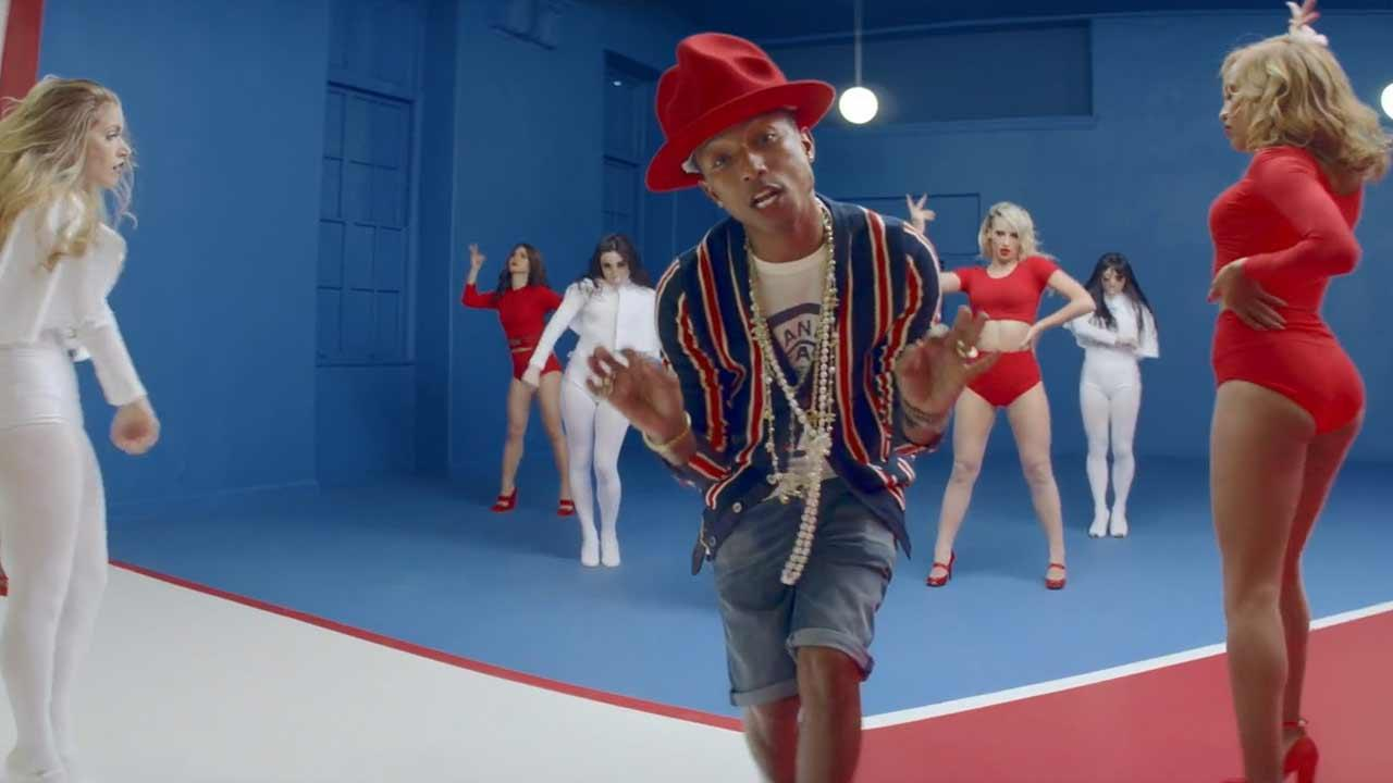 Pharrell Williams appears in the 2014 music video for the song Marilyn Monroe.