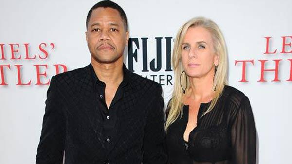 Cuba Gooding Jr. and Sara Kapfer appear at the Los Angeles premiere of the movie The Butler on Aug. 12, 2013. - Provided courtesy of Sara De Boer / startraksphoto.com