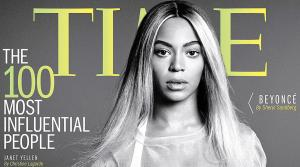 Beyonce appears on the cover of Time magazines 100 Most Influential People cover, released on April 24, 2014. - Provided courtesy of Time magazine